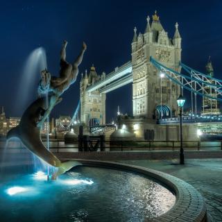 Tower Bridge in London - Obrázkek zdarma pro iPad