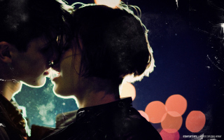 Kiss Of Love Wallpaper for Android, iPhone and iPad