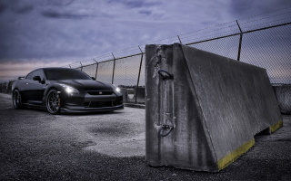 Nissan Gtr R35 Background for Android, iPhone and iPad