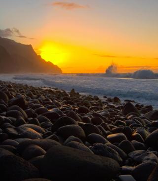 Kalalau Beach in Hawaii - Obrázkek zdarma pro Nokia Asha 501