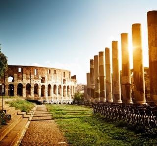Rome - Amphitheater Colosseum - Obrázkek zdarma pro 128x128