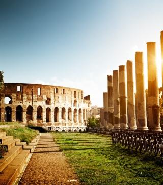 Rome - Amphitheater Colosseum - Obrázkek zdarma pro Nokia X1-00