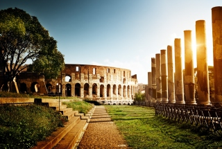 Rome - Amphitheater Colosseum Picture for Android, iPhone and iPad
