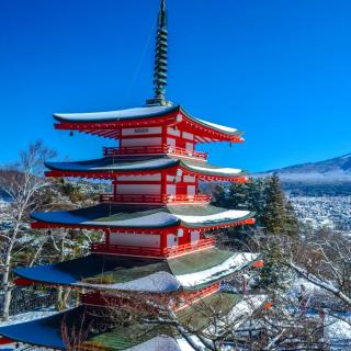 Fuji Mountain - Obrázkek zdarma pro iPad mini 2