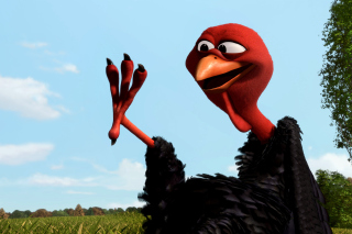 Free Reggie Turkey in Free Birds Picture for Android, iPhone and iPad