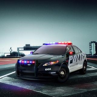 Ford Police Interceptor 2016 - Obrázkek zdarma pro iPad 2