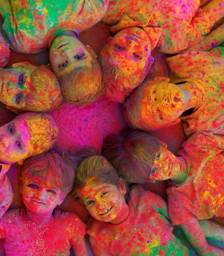 Indian Holi Festival - Obrázkek zdarma pro 360x640
