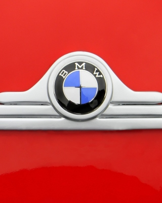 BMW Logo Background for 480x854