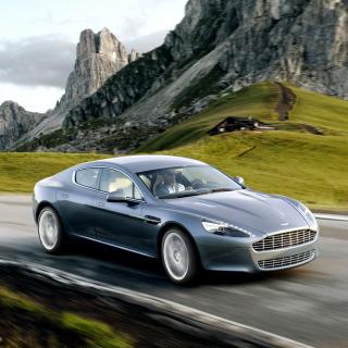 Aston Martin Rapide - Obrázkek zdarma pro iPad