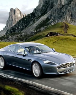 Aston Martin Rapide - Obrázkek zdarma pro 132x176