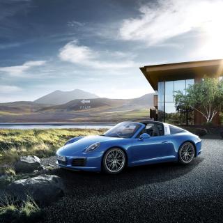 Porsche 911 Targa 4 GTS - Obrázkek zdarma pro 320x320