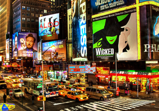 Broadway Wallpaper for Android, iPhone and iPad
