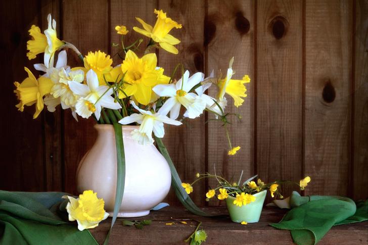 Daffodil Jug wallpaper