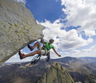 Rock Climbing - Obrázkek zdarma pro iPad mini 2