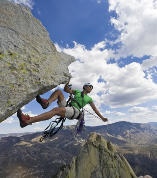 Rock Climbing - Obrázkek zdarma pro Nokia 300 Asha