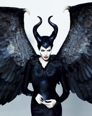 Maleficente, Angelina Jolie - Obrázkek zdarma pro Nokia Asha 203