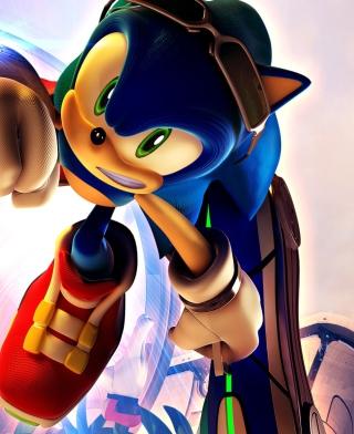 Sonic In Galaxy - Obrázkek zdarma pro Nokia C1-01
