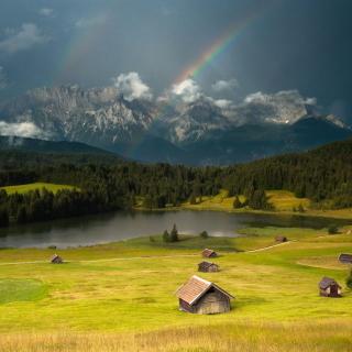 Breathtaking Landscape - Obrázkek zdarma pro iPad