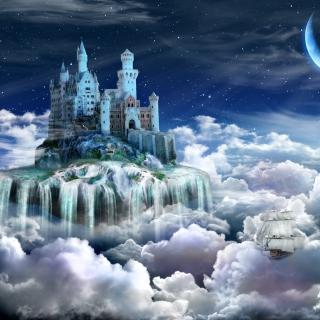 Castle on Clouds - Obrázkek zdarma pro 320x320