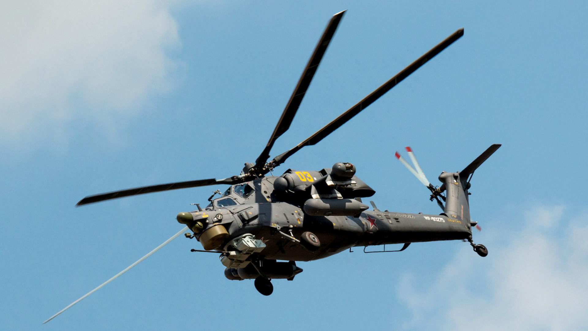Helicoptero Hd Fondos De Escritorio: Mil Mi-28 Havoc Helicopter