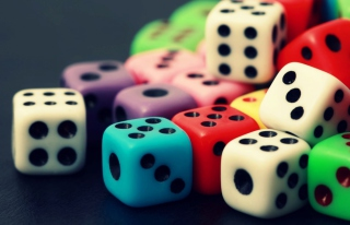 Dice Background for Android, iPhone and iPad