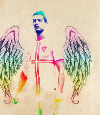 Cristiano Ronaldo Angel - Obrázkek zdarma pro Nokia X2