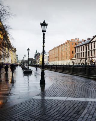 Nevsky Prospect in St  Petersburg - Obrázkek zdarma pro Nokia Asha 502