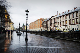 Nevsky Prospect in St  Petersburg Picture for Android, iPhone and iPad