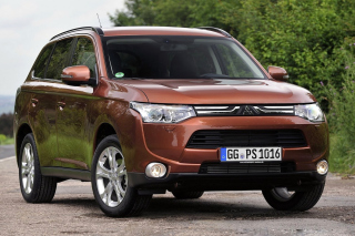 Mitsubishi Outlander Background for Android, iPhone and iPad