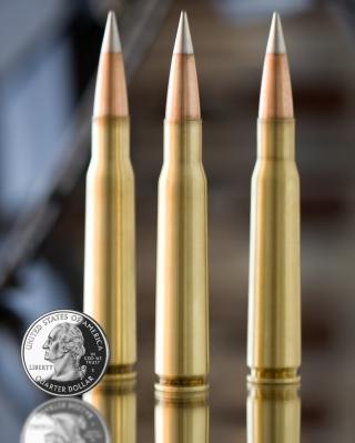 Bullets And Quarter Dollar - Obrázkek zdarma pro Nokia C2-06