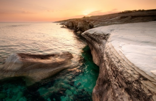 Cyprus Beach Background for Android, iPhone and iPad