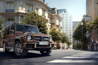 Free Mercedes Benz AMG G63 Picture for Android, iPhone and iPad