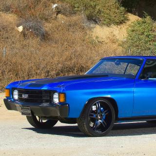 1972 Chevrolet Chevelle SS Coupe - Obrázkek zdarma pro 320x320