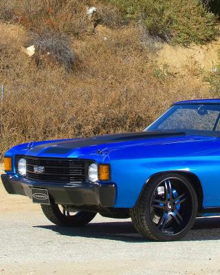 1972 Chevrolet Chevelle SS Coupe - Obrázkek zdarma pro 768x1280