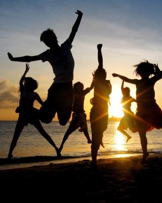 Dancing At Sunset - Obrázkek zdarma pro Nokia Asha 300