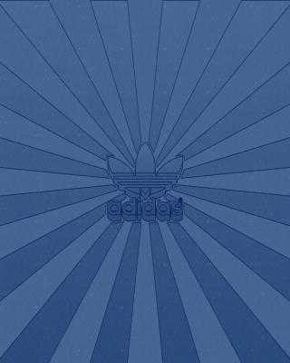 Adidas Blue - Obrázkek zdarma pro 176x220