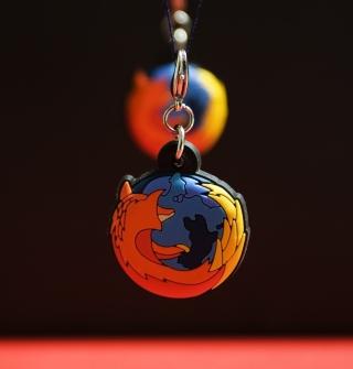 Firefox Key Ring - Obrázkek zdarma pro iPad
