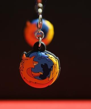 Firefox Key Ring - Obrázkek zdarma pro Nokia C1-02