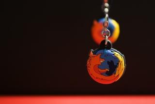Firefox Key Ring - Obrázkek zdarma pro Samsung Galaxy Tab 3 8.0