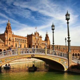 Sevilla - Obrázkek zdarma pro iPad