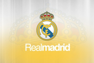 Real Madrid Fc Logo Background for Android, iPhone and iPad