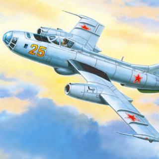 Yakovlev Yak 25 Soviet Union interceptor aircraft - Obrázkek zdarma pro 208x208