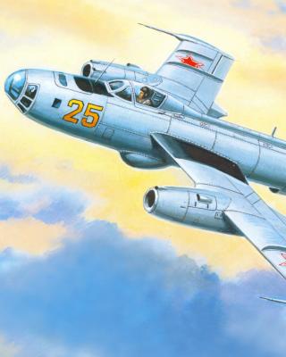 Yakovlev Yak 25 Soviet Union interceptor aircraft - Obrázkek zdarma pro Nokia Asha 503