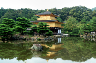 House On River In Japan Wallpaper for Android, iPhone and iPad