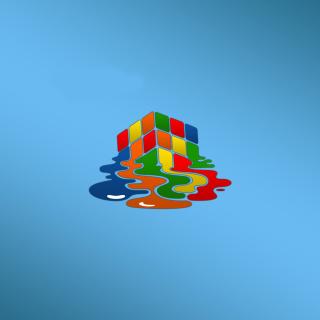 Rubiks cube puzzle - Obrázkek zdarma pro 2048x2048