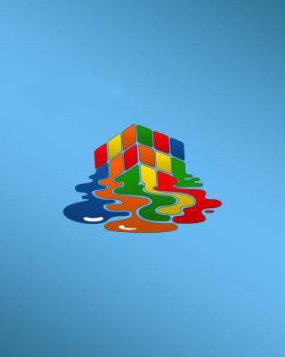 Rubiks cube puzzle - Obrázkek zdarma pro Nokia X2-02