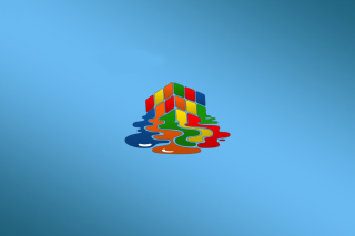 Rubiks cube puzzle Wallpaper for Android, iPhone and iPad