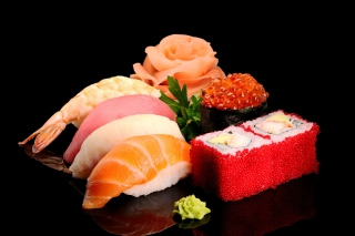 Japanese Sushi Background for Android, iPhone and iPad