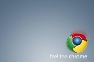 Feel The Chrome Background for Android, iPhone and iPad