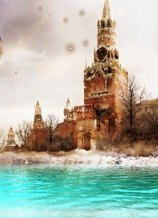 Moscow Art - Obrázkek zdarma pro 240x400